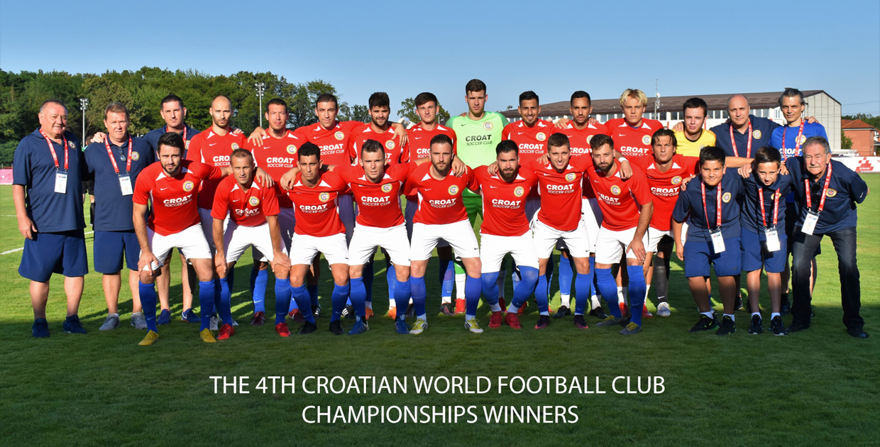 The 4th Croatian World Football Club Championships Winners