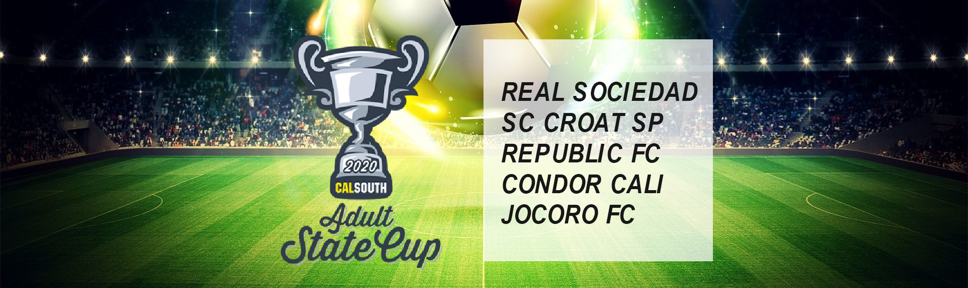 adult state cup 2020 schedule